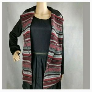 NWT Ethereal Red Black & White Jacket size Small